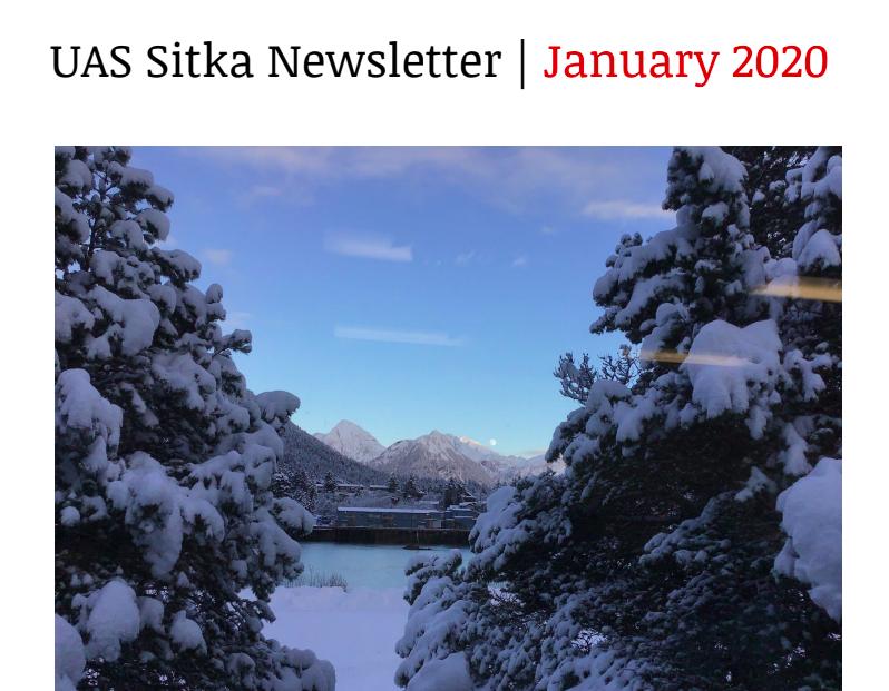 UAS Sitka Newsletter - January 2020