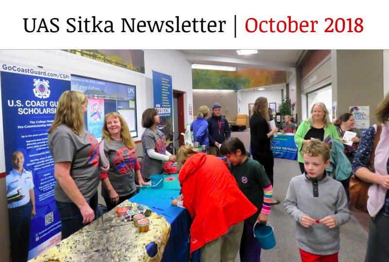 UAS Sitka Newsletter - October 2018